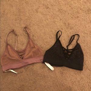 2 Victoria's Secret Pink Sports Bra XS